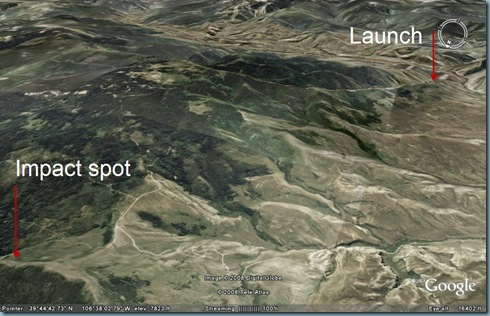 Wolcott Launch to Crash