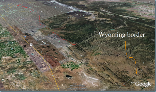 Wyoming border